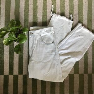 Madewell Tapered Wide Leg